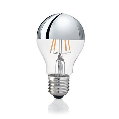 LED-Glühfaden Birne E27 4W 270lm 3000K Kopfverspiegelt