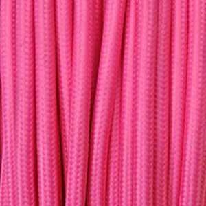 Textilkabel 3x0,75mm² fuchsie