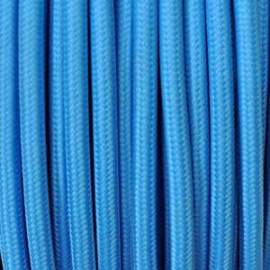 Textile cable 2x0,75mm² turquoise