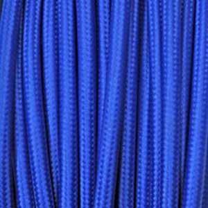 Textilkabel 3x0,75mm² blau