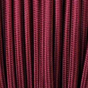 Textile cavo 2x0,75mm² bordeaux