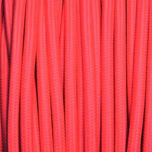 Textilkabel 3x0,75mm² fluoreszierend fuchsia