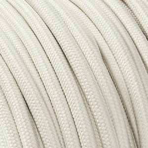 Textile cable 2x0.75mm² ivory