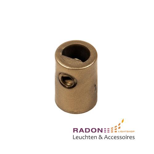 Zugentlastung mit Innengewinde für M10x1, gold