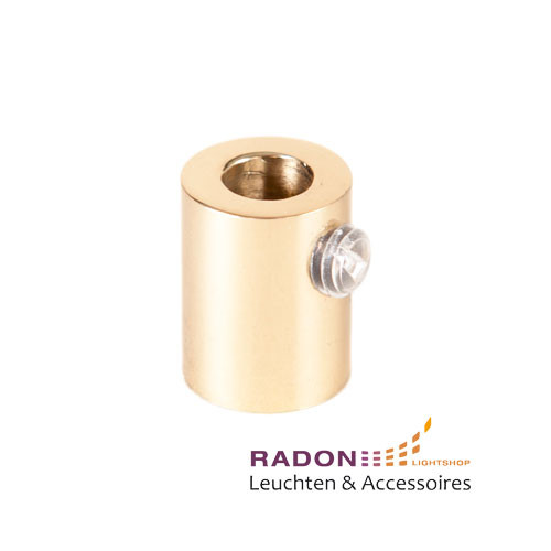 Strain relief inside thread M10x1 polished brass