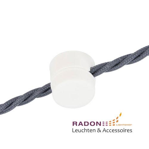 Kabelhalter PVC weiss