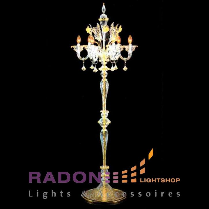 Lámpara de pie de Murano San Polo