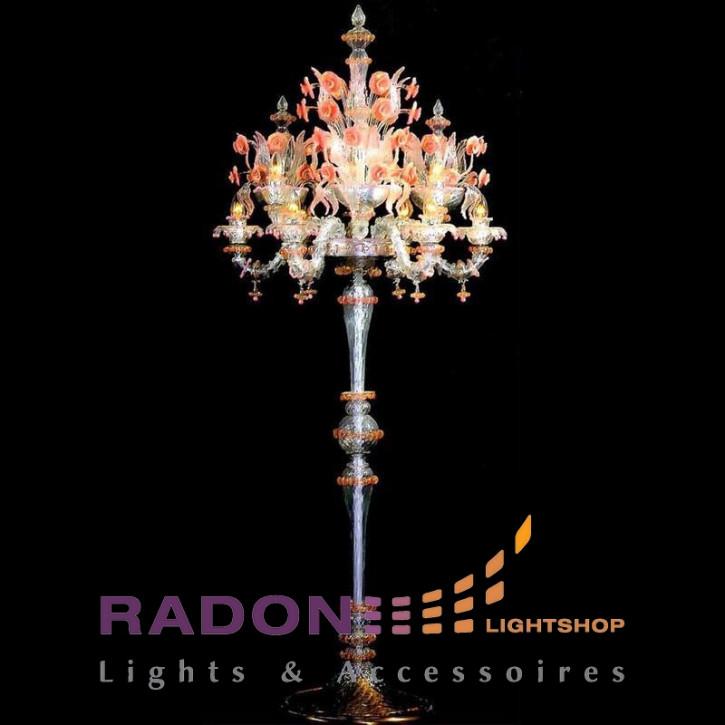 Lámpara de pie de Murano Rezzonico