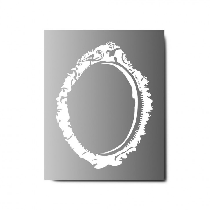 Helix LED Mirror