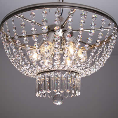 Crystal Ceiling Light