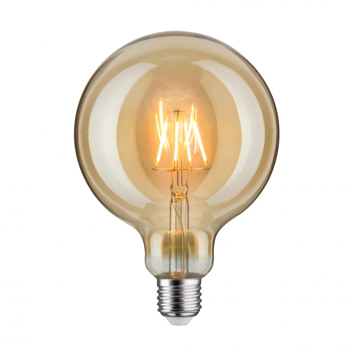 LED retro Globe 125 4W E27 Gold
