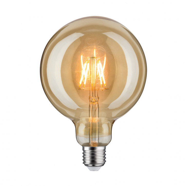 LED retro Globe 125 6.5W E27 Gold