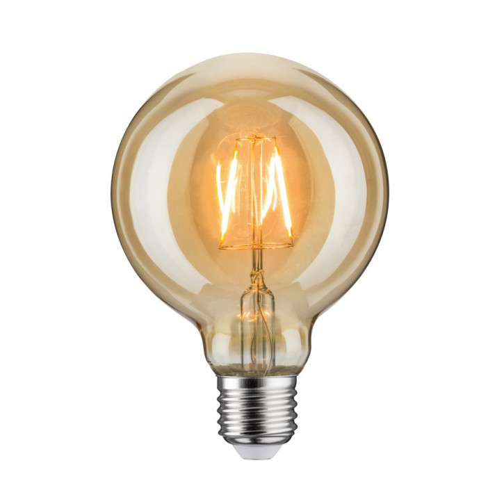 LED retro Globo de Oro 95 2.5W E27