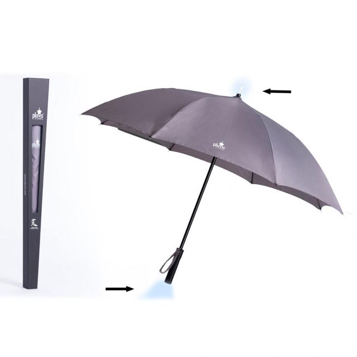 Paraguas gris Pluvis