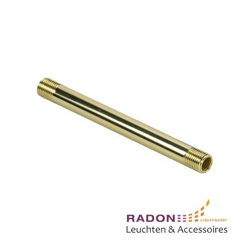 Eisenrohr vergoldet M10