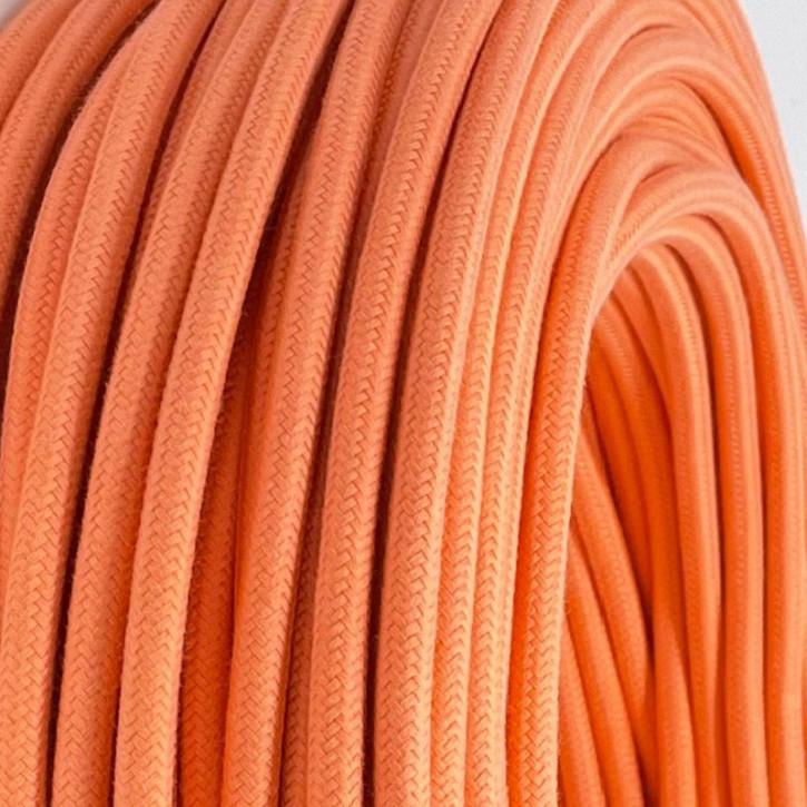 Textilkabel 3x0,75mm² Coral 3-adrig