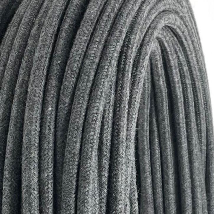 Textilkabel Plaster Gray