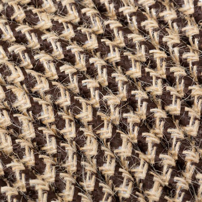 Textilkabel 3x0,75mm² Jute natur / Stoff braun