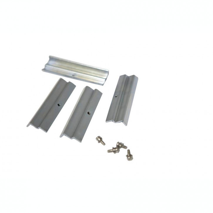 Kit di montaggio con W-staffa per pannelli a LED