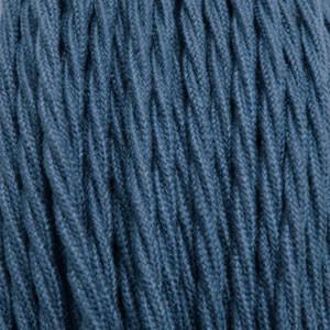 Textilkabel 3x0,75mm² Baumwolle jeans