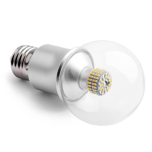 Lampadina del LED E27 6W 550lm 2900K - chiaro