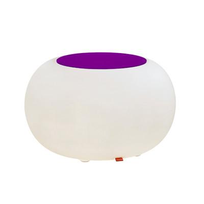 Bubble ACCU LED für Garten und Terrasse mit Sitzkissen violett