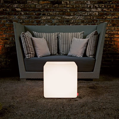 Cube for garden and terrace