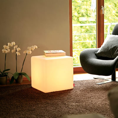 Cube for interiors