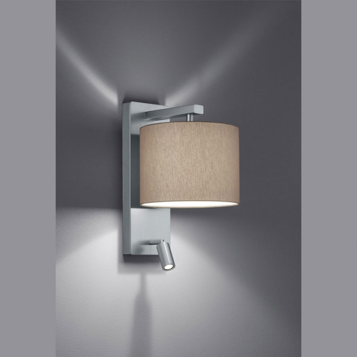 Forca wall light with reading light