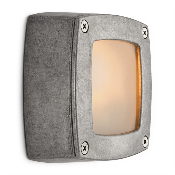Wall light aluminum nature