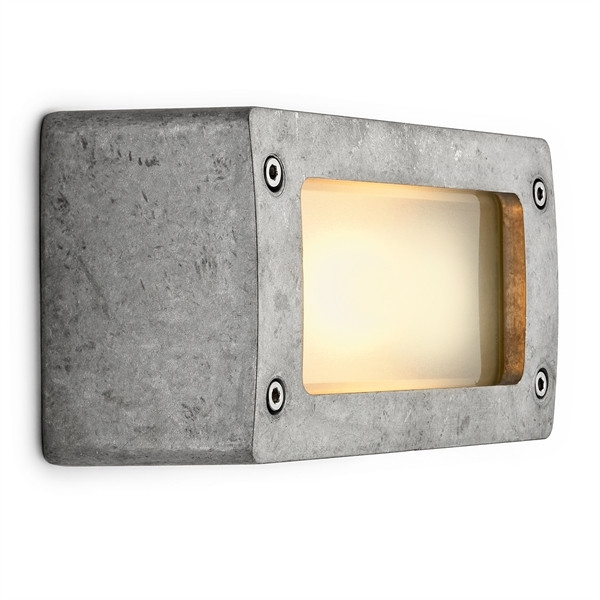 Block light aluminum nature