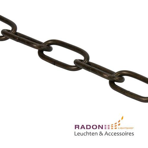 Chandelier chain black / brown 1m