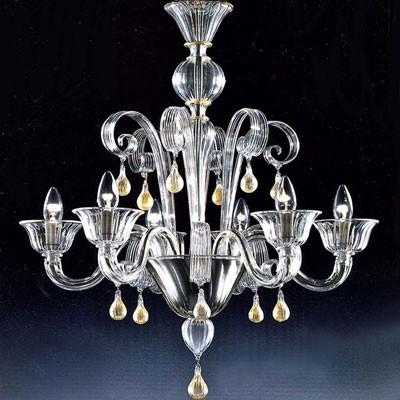 Murano Kronleuchter aus Muranokristall