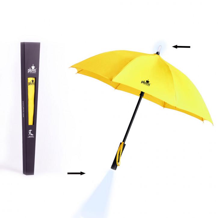 Pluvis paraguas amarillo