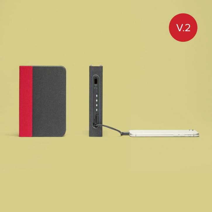 Mini Lumio+ Rosso-Grigio V.2
