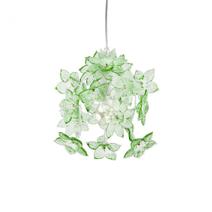 Edo - Leuchte mit grünen Blüten