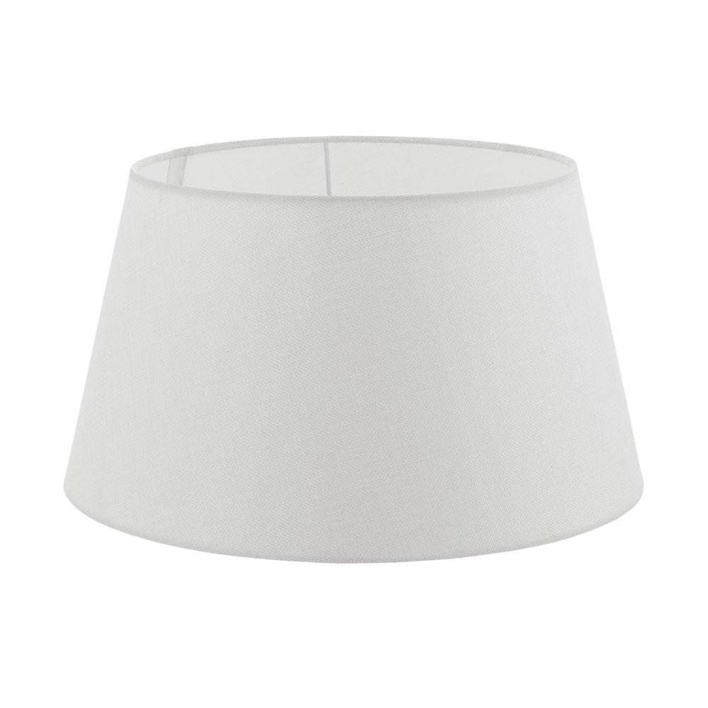 Eglo, lamp shade, linen, white, white wire mesh frame, foil, E27