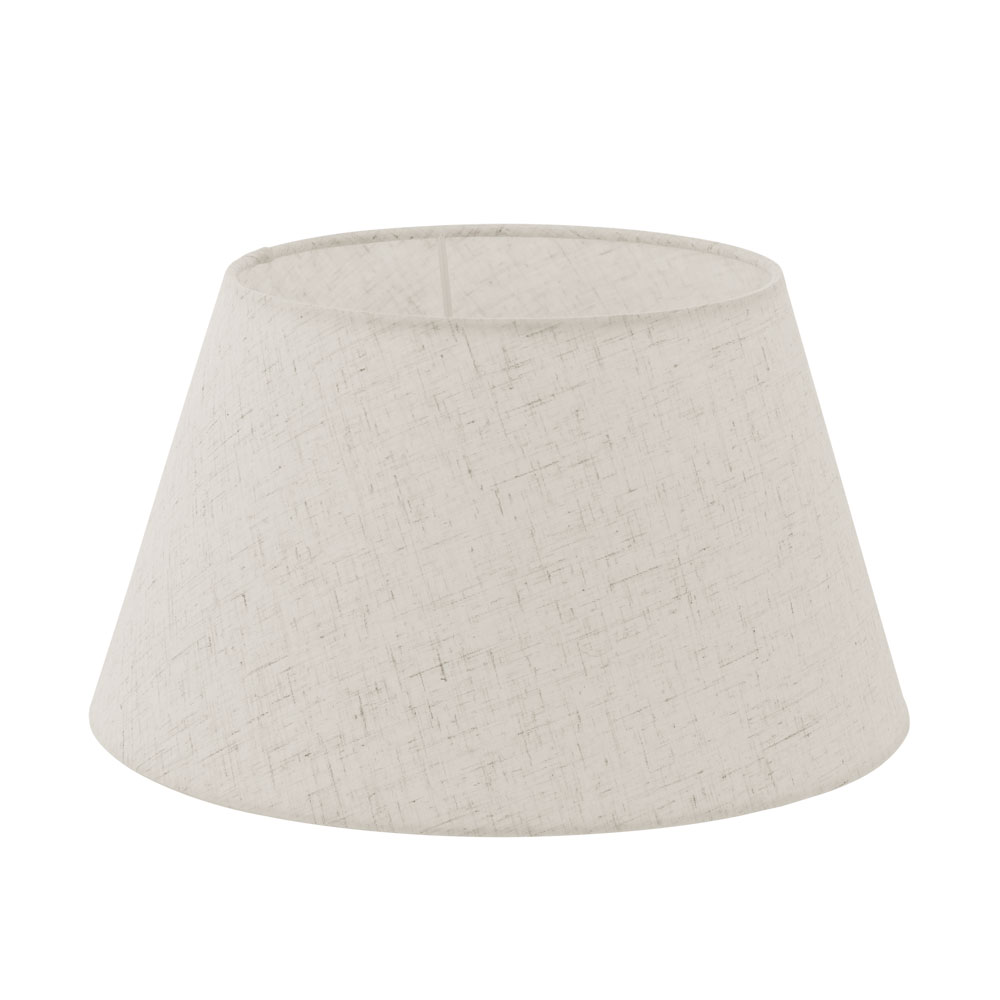 Eglo, lamp shade, cream, patterned, white wire mesh frame, foil ...