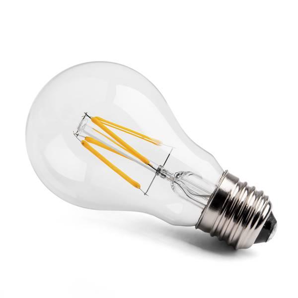 led soft value gl hfadenlampe birne e27 4w 350lm 2700k 230v dimmbar. Black Bedroom Furniture Sets. Home Design Ideas