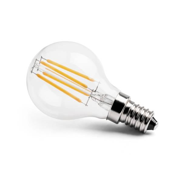 led soft value gl hfadenlampe birne e14 40w 430lm 2700k 230v. Black Bedroom Furniture Sets. Home Design Ideas