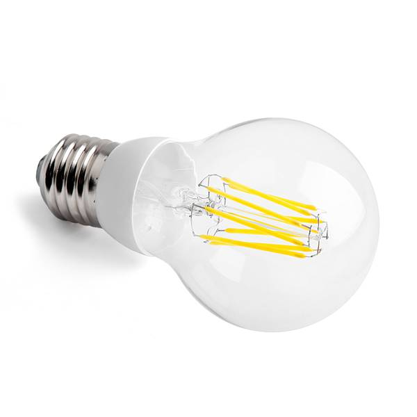 Valore led gluefadenlampe e27 7w 700lm 2700k 230v for Offerte lampadine a led e 27