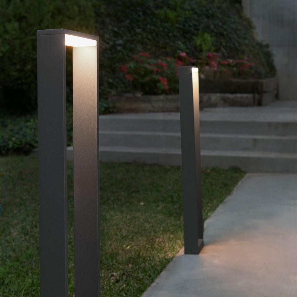 faro aussenleuchte wandlleuchte aluminiumguss. Black Bedroom Furniture Sets. Home Design Ideas