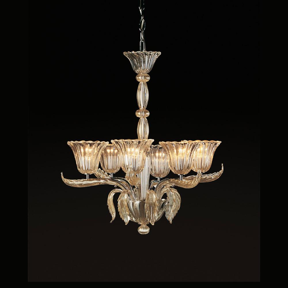 Lampadario Vetro Di Murano.8006 K6