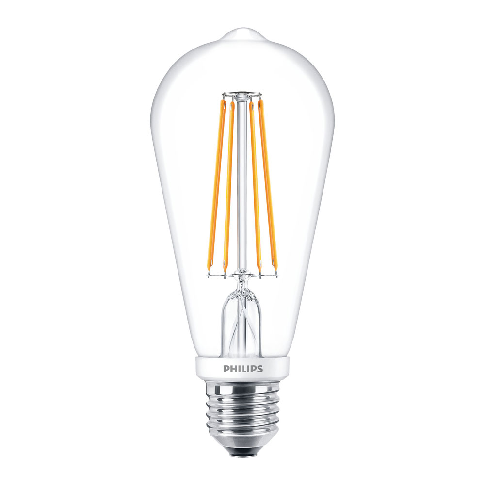 philips  classic  led bulb  e27  7w  60w  806lm  2700k