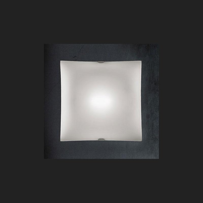 Braga Illuminazione Wall Lamp Ceiling Lamp Glass Metal Nickel