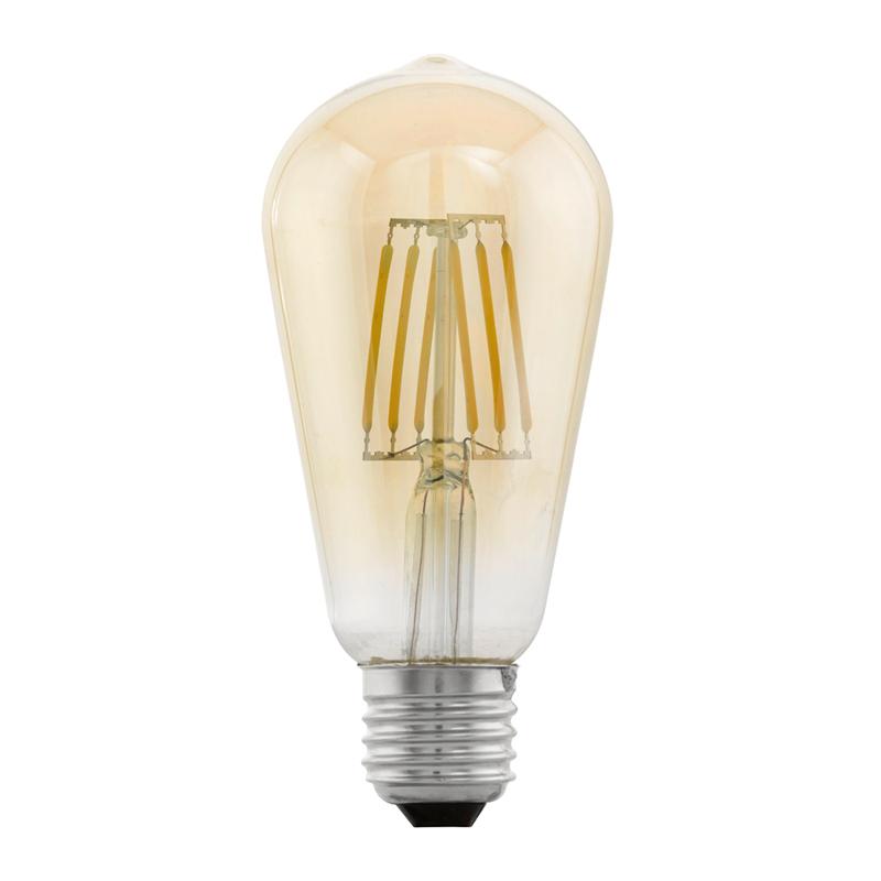 Eglo, Vintage, LED, Glühfaden, Lampe, Birne, Edison, E27, 4W, 220lm ...
