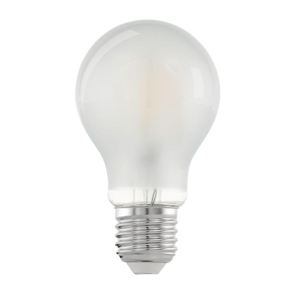 Eglo, Glühfaden Lampe, Birne, LED Filament, E27, 6W, 450lm, 2700K