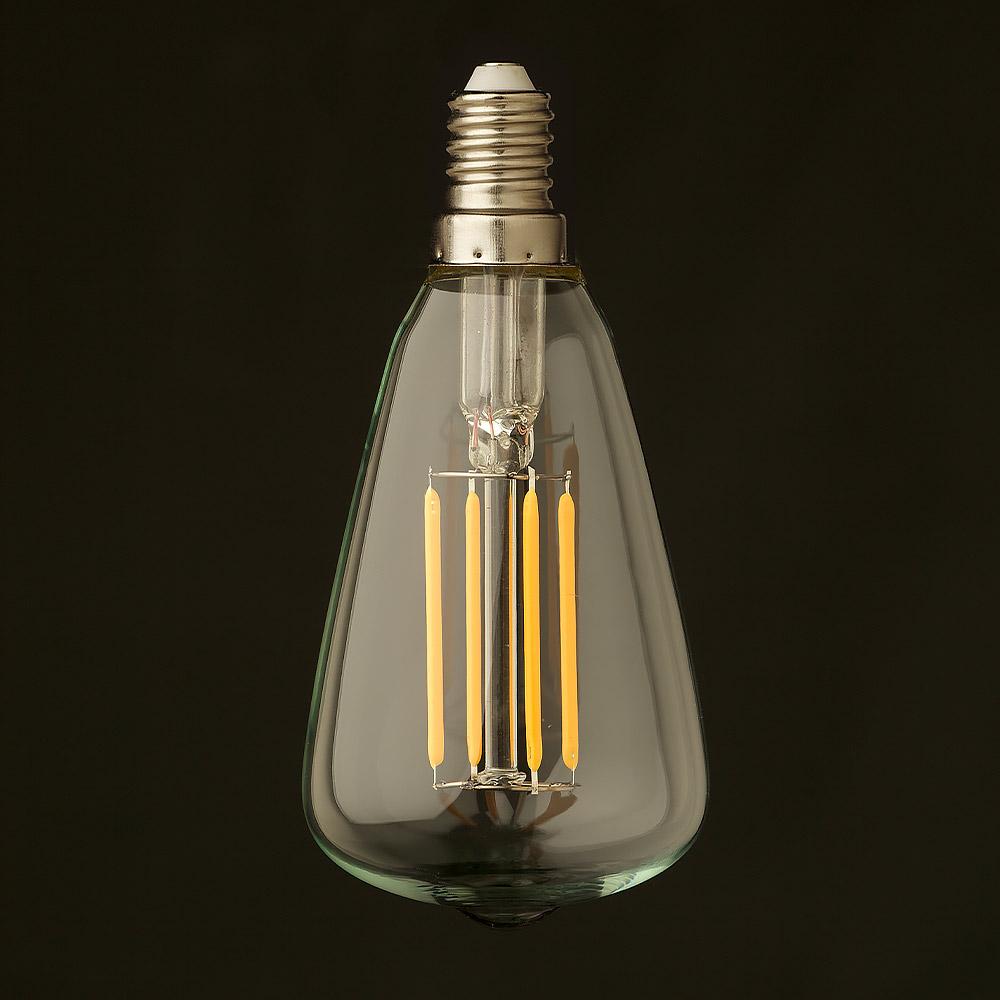 ... luce del globo, LED filamento, Edison lampadina, E14, 3W, 2200K, 197lm