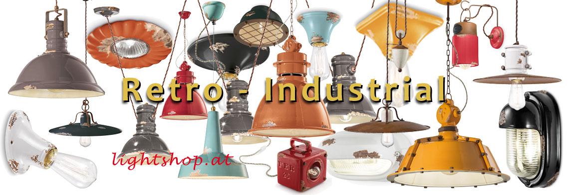 Retro Industrieleuchten