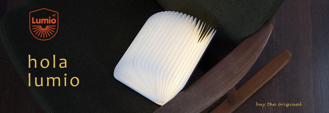 Lumio lampara del libro